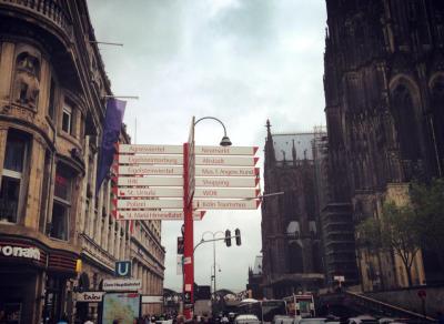 Location: Kölner Nachtleben. Cologne, Germany