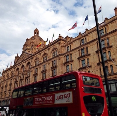 Harrods, London Departement Store, England