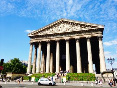 La Madeleine Church Paris, France