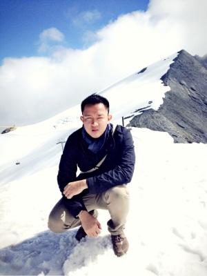Berada di puncak gunung untuk pertama kalinya.
