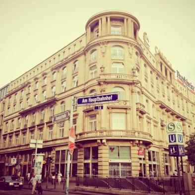 Location: Bahnhofssuche, Frankfurt, Germany