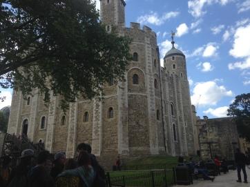 Salah satu kastil di Tower of London