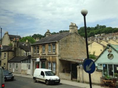 Rumah penduduk Bath City